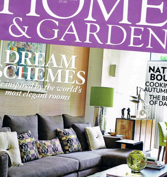 Homes and Gardens Front Cover