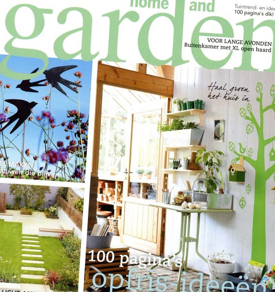 Home and Garden Front Cover