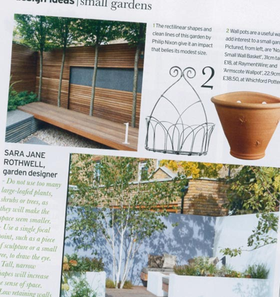 House and Garden Article